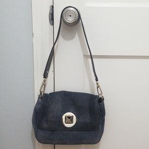 Grey Suede Kate Spade Handbag